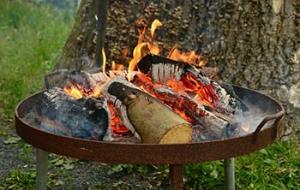 Simple Feuerschale